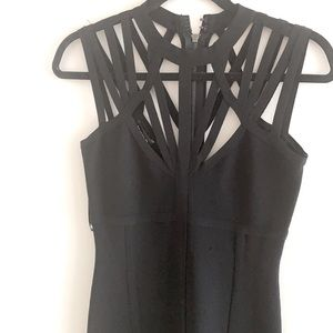 Bebe bodycon dress - Black